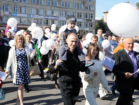 Как лебединцы отпраздновали День города Губкина*