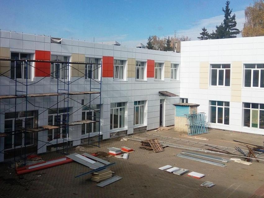 Ремонт школы вБессоновке закончат кследующему учебному году