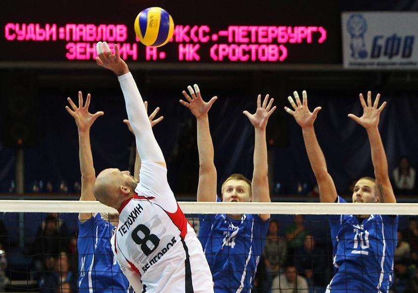 «Белогорье» обыграло «Динамо» сосчётом3:0