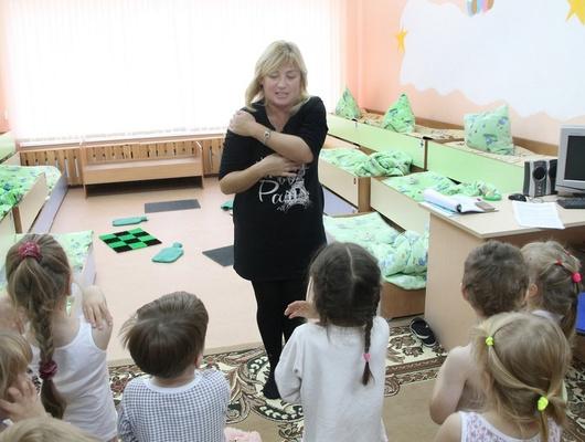 Грелка, пение ишлёпа. Как вБелгородском районе дошколят приучают кздоровому образу жизни