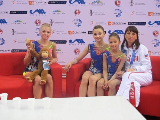 Белгородки взяли серебро напервенстве Европы поспортивной акробатике