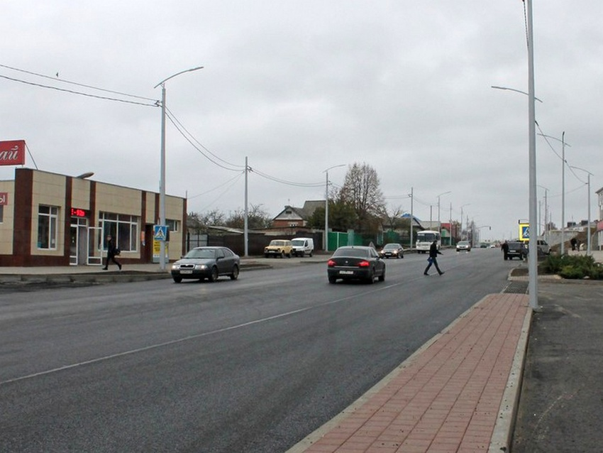 ВСтрелецком завершают благоустройство автодороги