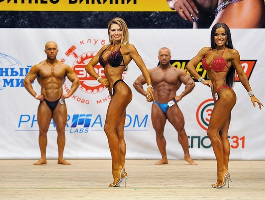 Абсолютной чемпионкой Белгородской области пофитнес-бикини стала Ольга Беляева