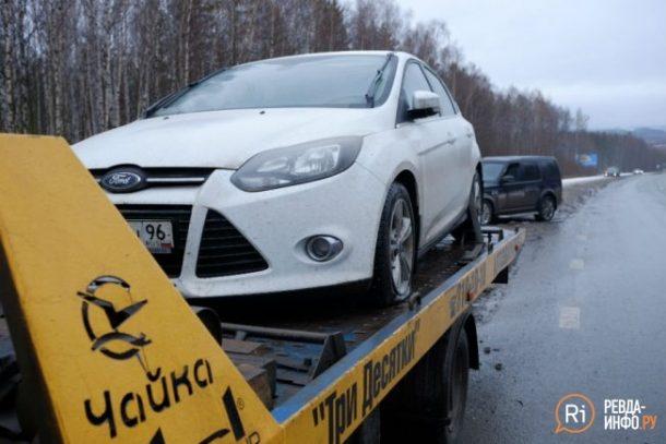 50 автомобилей пробили колеса на трассе Пермь-Екатеринбург
