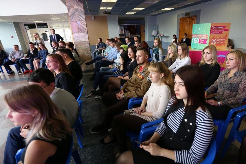 Белгородскую делегацию проводили наВсемирный фестиваль молодёжи вСочи