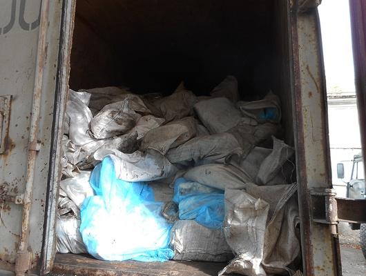 Вгрузовом поезде подВалуйками нашли 13тонн бесхозного сала