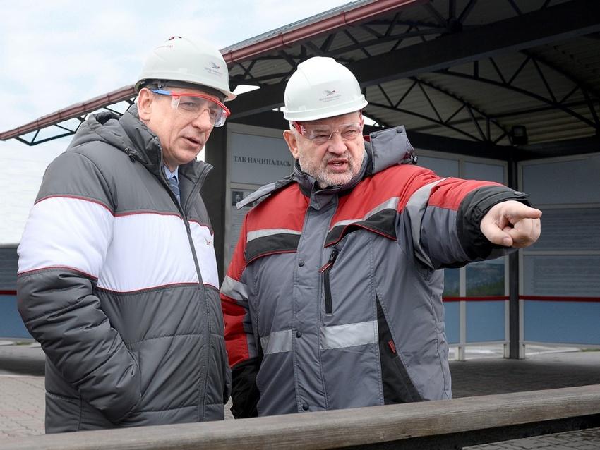Два предприятия «Металлоинвеста» посетила делегация Трубной металлургической компании*