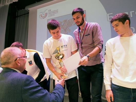 Команда БГТУ выиграла всероссийский фестиваль студенческого спорта