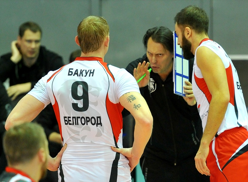 «Белогорье» втрёх сетах победило «Кузбасс»