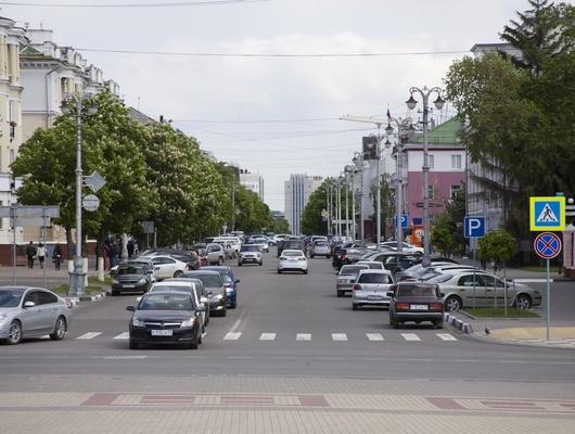 6ноября центр Белгорода перекроют длядвижения транспорта
