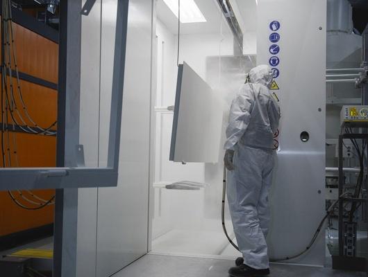 ВРазумном открыли первый вобласти цех поокраске металлоизделий