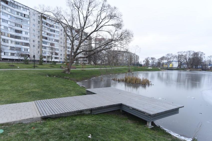 В Белгороде открыли первыйучасток отремонтированной набережной