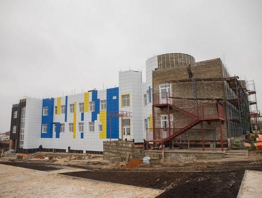 ВПрохоровке строят школу-детсад на180 мест
