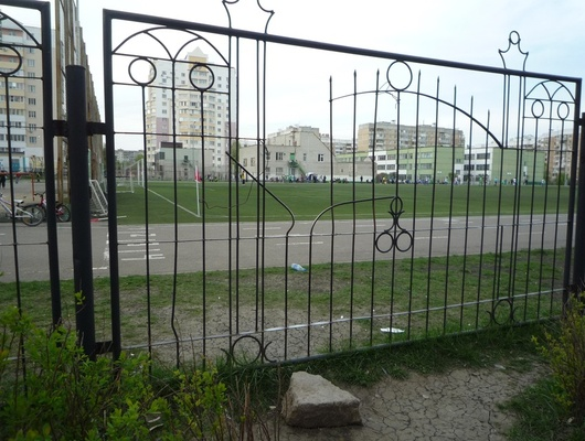 Евгений Савченко попросил депутатов курировать ремонт школьных стадионов