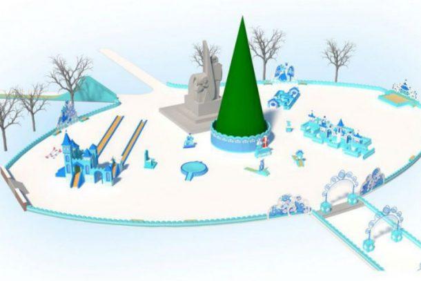 Ледовый городок в Первоуральске планируют открыть 25 декабря