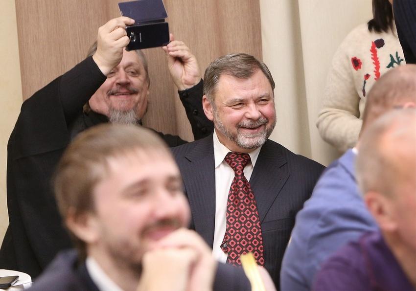 Валентин Гафт стал гостем митрополичьей гостиной