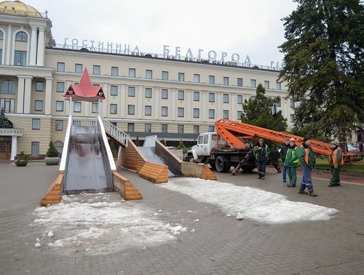 Зима далеко. ВБелгороде наНовый год будет дождь