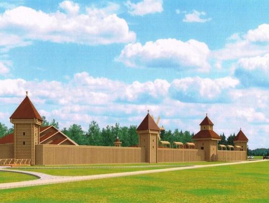 ВЯблоново возведут крепость времён Белгородской засечной черты