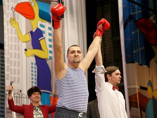Вфинале «БелОблСмеха» победила Сборная села Никольского