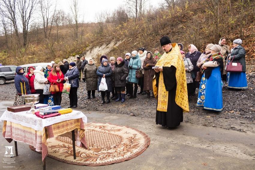 Белгородская митрополия ипрофсоюз «Правда» облагородили пять родников*