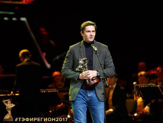 Телеоператор «Мира Белогорья» Алексей Зимин получил премию «ТЭФИ-регион»