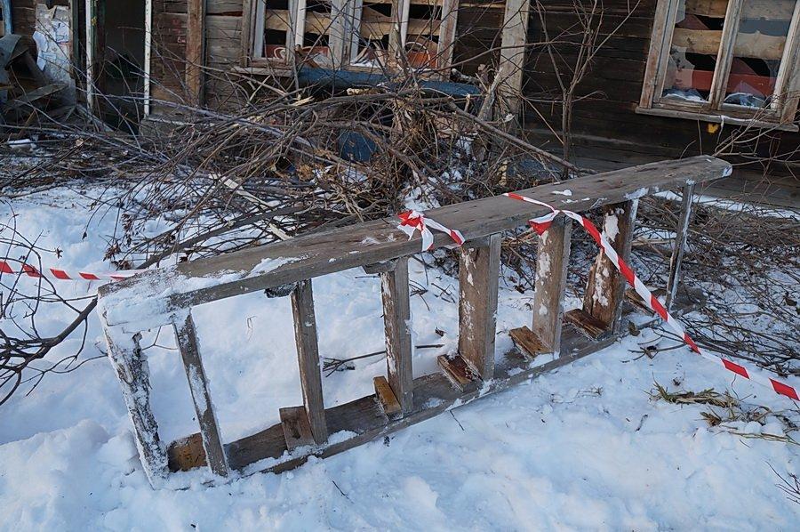 В Ново-Талице снесли дом