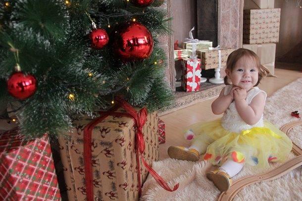 «Первый день рождения» в новогоднем интерьере — через два дня