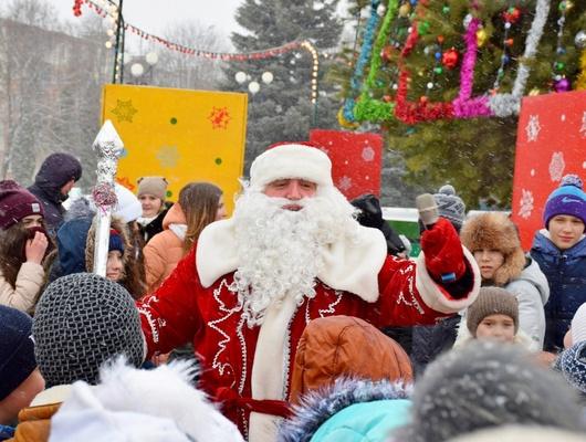 ВСтаром Осколе 19декабря пройдёт фестиваль Дедов Морозов