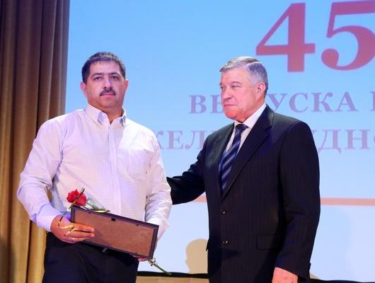 Коллектив Лебединского ГОКа отпраздновал 45-летие обогатительной фабрики*