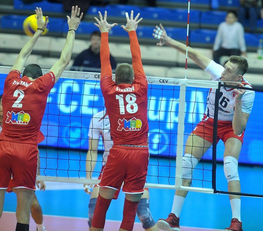 «Белогорье» вышло в1/8финала Кубка Европейской конфедерации волейбола