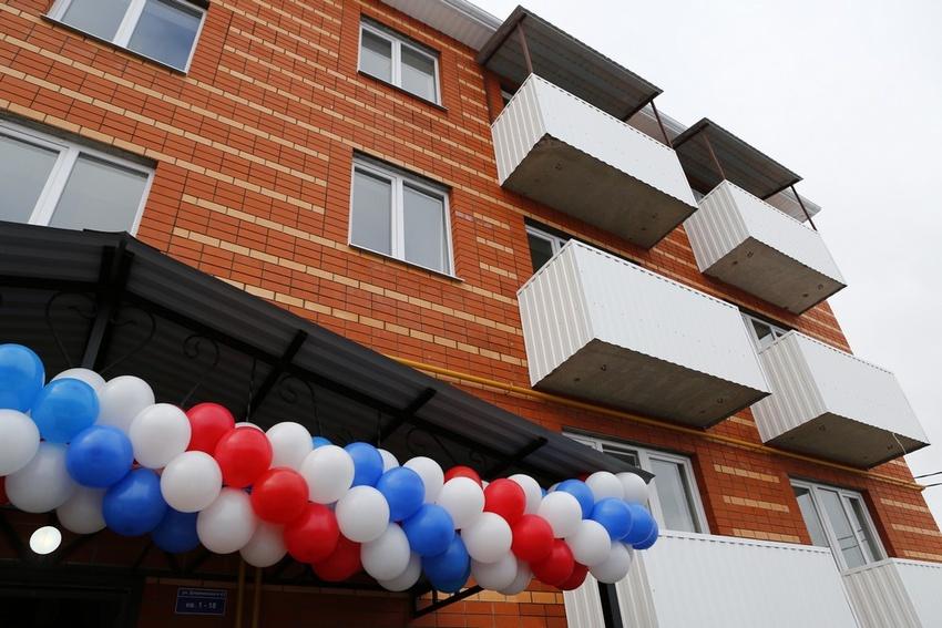 ВКороче ключи отновых квартир получили девять сирот