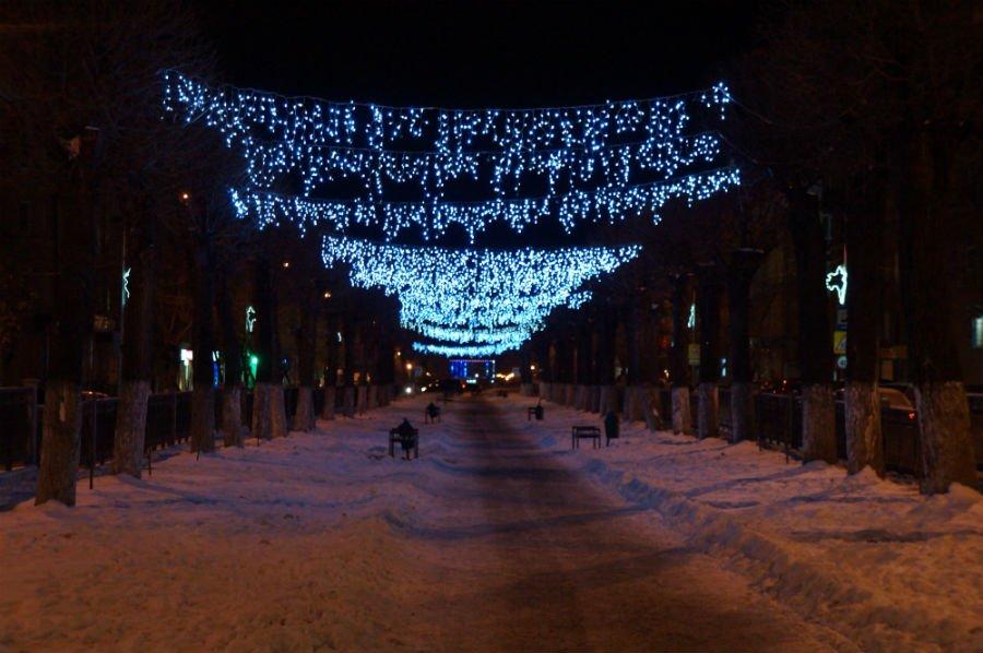 Открытие Новогоднего городка запланировано на 29 декабря