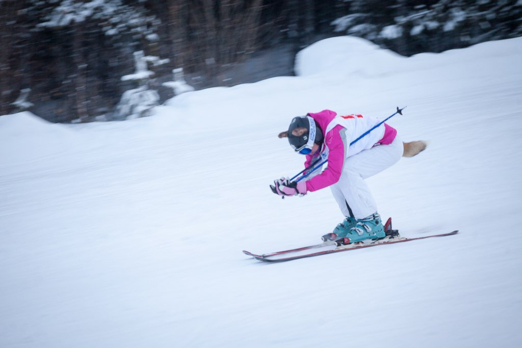 Поддержали олимпийцев и открыли зимний сезон